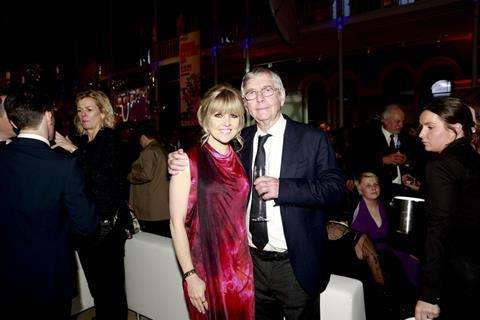 Ashley Jensen and Tom Courtenay